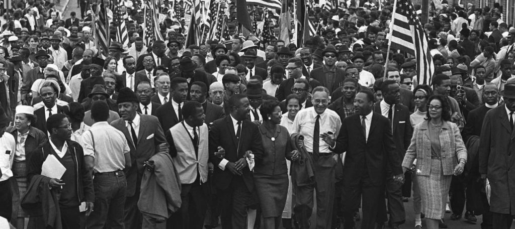 The African-American Civil Rights Movement that caused a whole revolution in racial barriers.