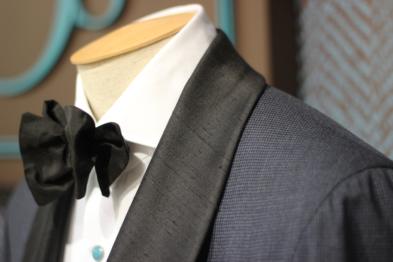 Raw silk shantung Tuxedo (what is this wizardry?)