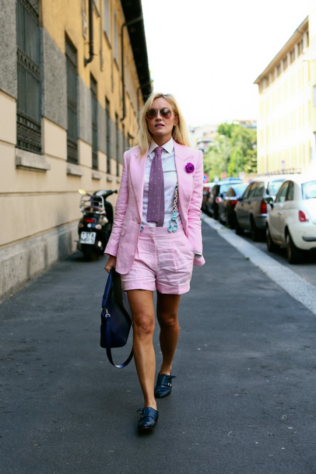 sarah-ann-murray-menswear-lookbook-linen-pink-suit-shorts-tie-e1373890223771
