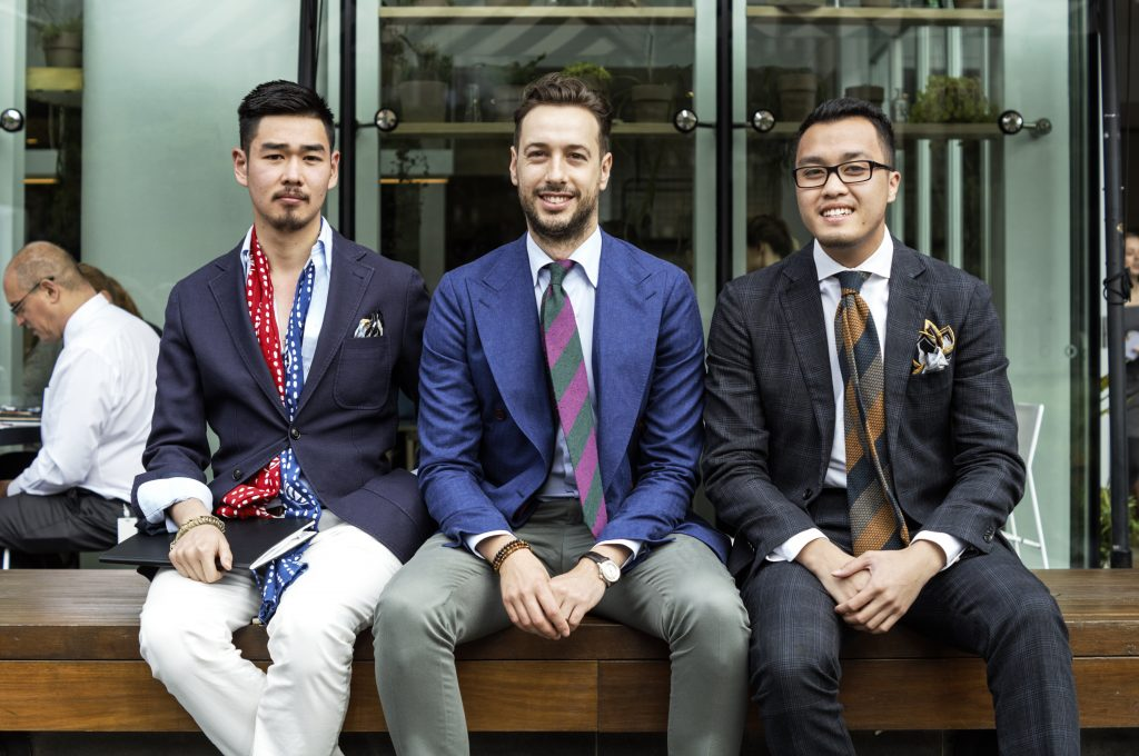 Hermen Custom Tailoring The Hounds Kyall Walker thehoundsblog style Michael Nguyen William Phung