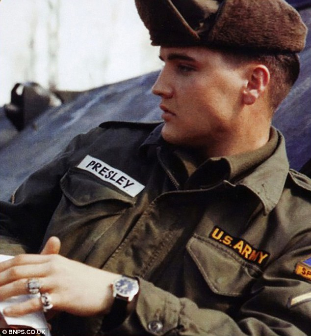 Elvis Presley M51 Military Jacket