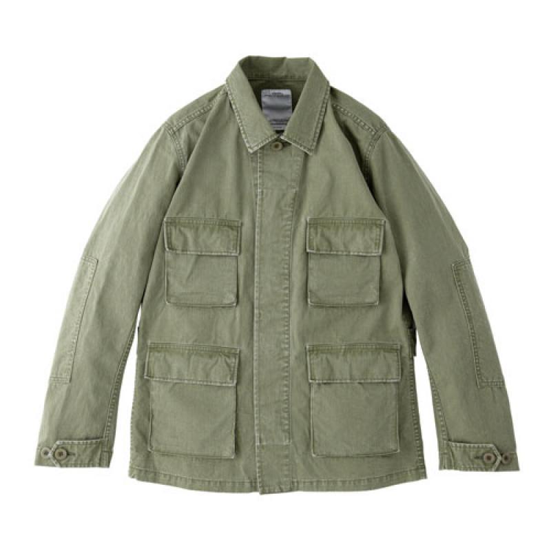 Visvim Kilgore olive mechanics jacket the hounds hiroki nakamura