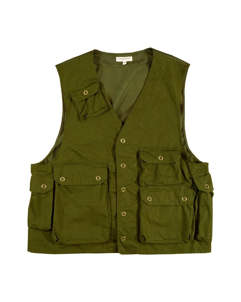 Engineered Garments C1 Vest Dk Olive
