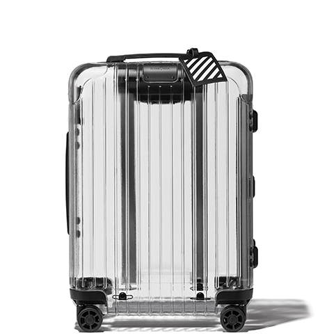 offwhite-rimowa-transparent pull luggage