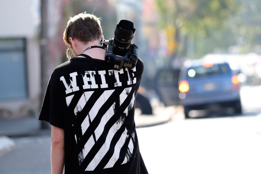 Off White T-Shirt at MBFWA | Photo via Hypebeast