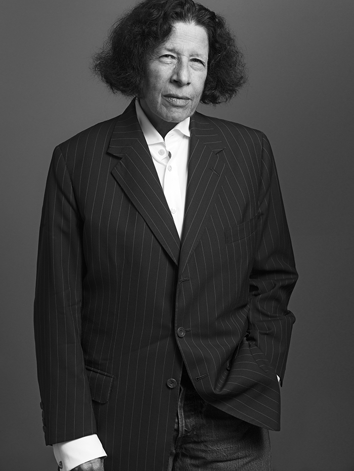 Fran Lebowitz by Rodolfo Martinez | Photo via Paper