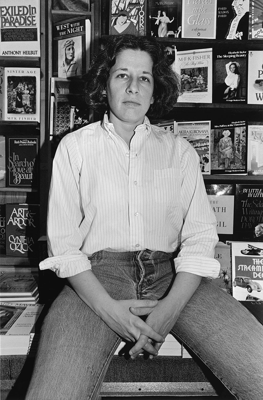 Fran Lebowitz by Lee Friedlander | Photo via The Cut