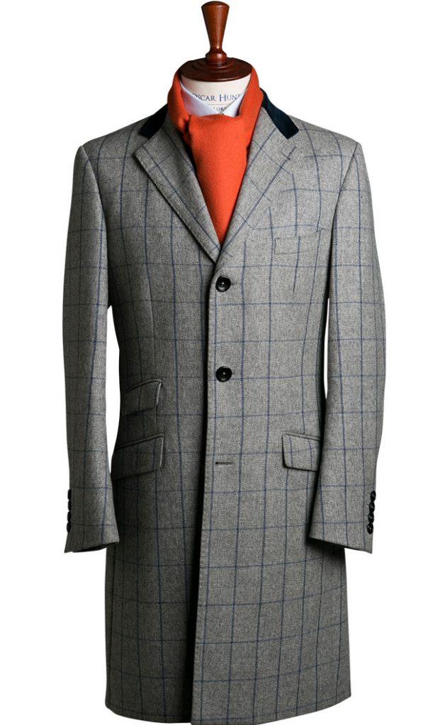 Oscar Hunt Single Breasted Chesterfield Coat Photo via Oscar Hunt Tailors
